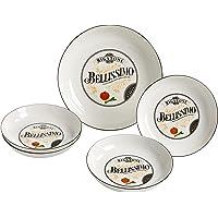 Maxwell & Williams rw9607Pasta (5Piezas), Porcelana, Color Blanco