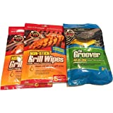 Grate Chef Grill Wipes (2-Pack) and Groover Cleaner (3-item