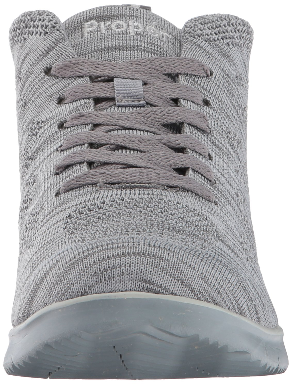Propet Women's TravelFit Hi Walking Shoe B01N59W9YQ 8 W US|Light Grey