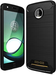 moto z play. Golden Sand Rugged Armor Flexible TPU Phone Back Cover For Moto Z Play [Color -