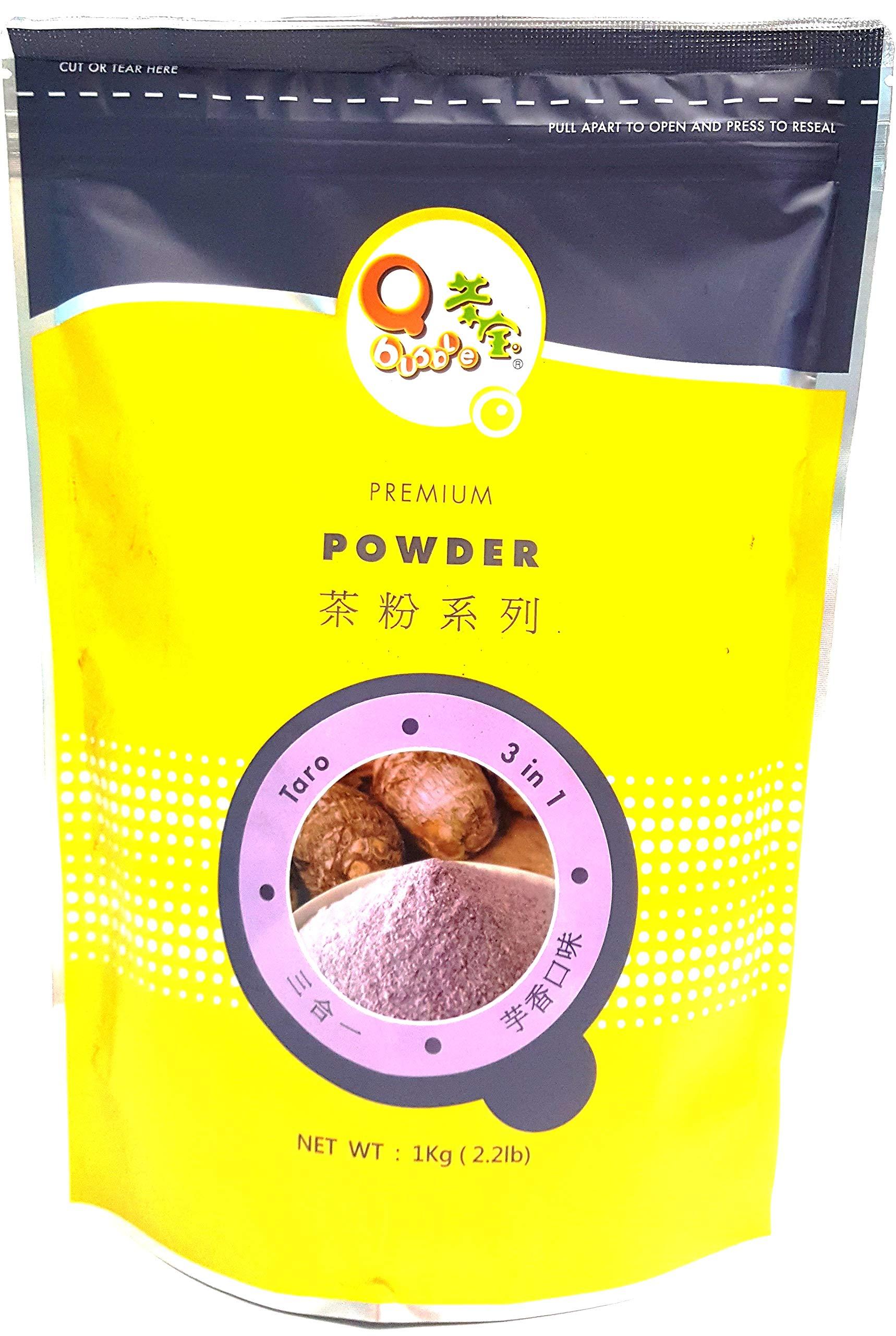 Qbubble Tea Powder Taro Powder, 2.2 Pound by Qbubble
