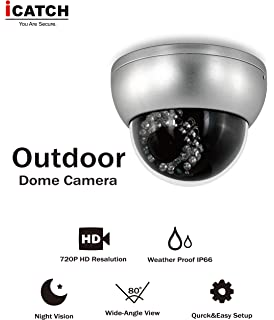 iCATCH Security Camera System,HD-SDI, Smart Home 720P Indoor Outdoor Camera with