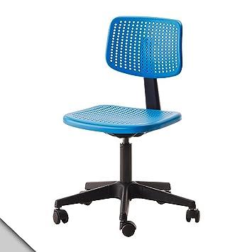 ikea alrik chaise de bureau pivotante ajustable avec roulettes à ... - Ikea Chaises De Bureau