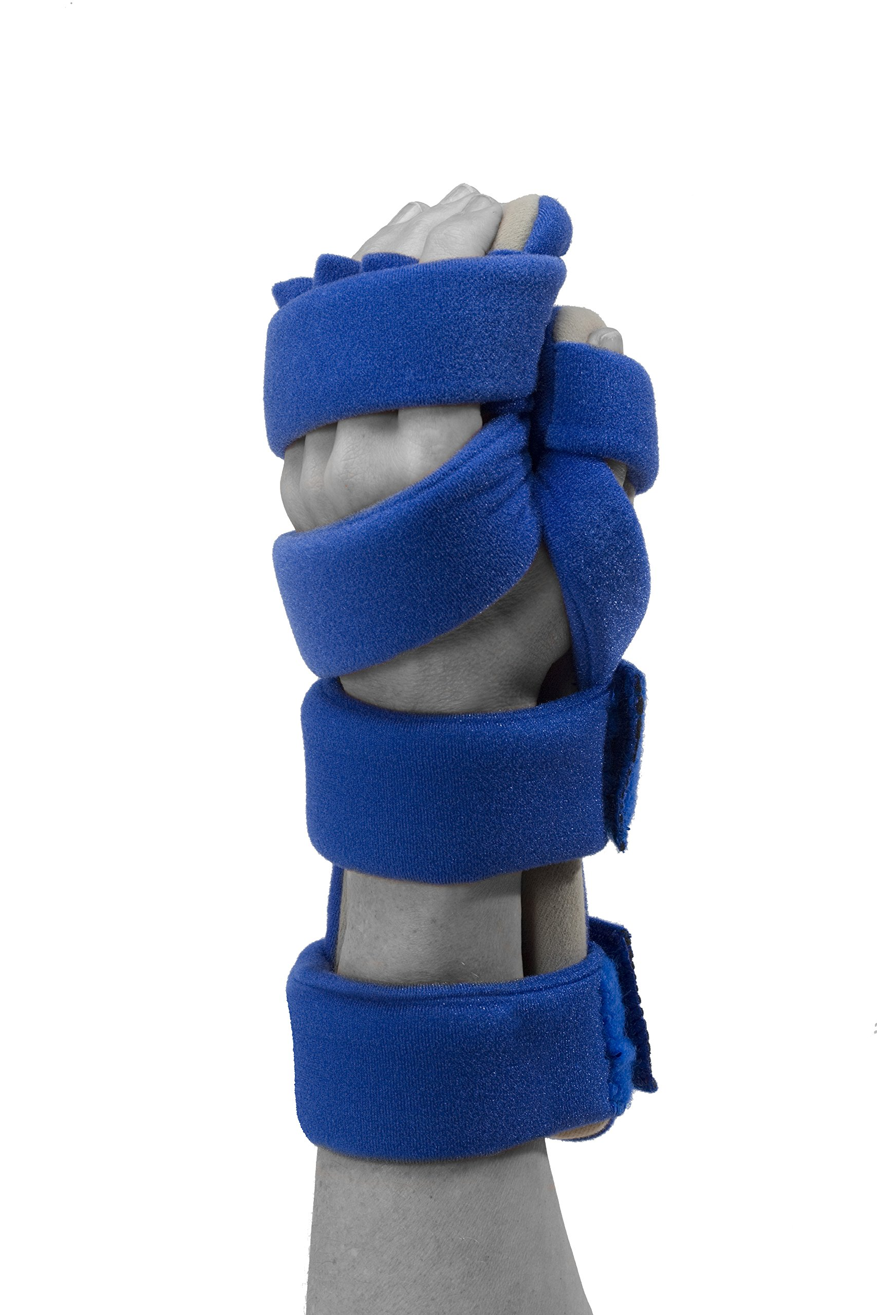 Restorative Medical Hand Brace | Resting Hand & Wrist Night Splint w/Flo-Form - Corrective, Supportive Brace for Comfort & Pain Relief
