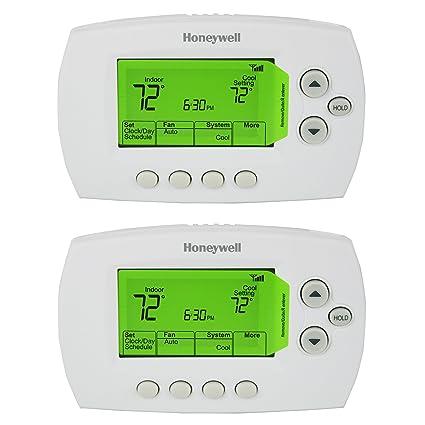 Amazoncom Honeywell RTH6580WF 7Day Programmable WiFi Thermostat