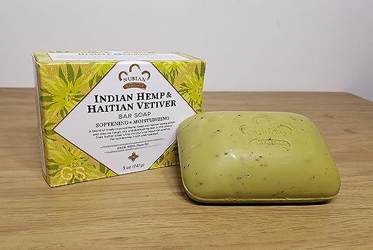 Bar Soap Indian Hemp & Haitian Vetiver, 5 oz (141 g) (6-Pack)
