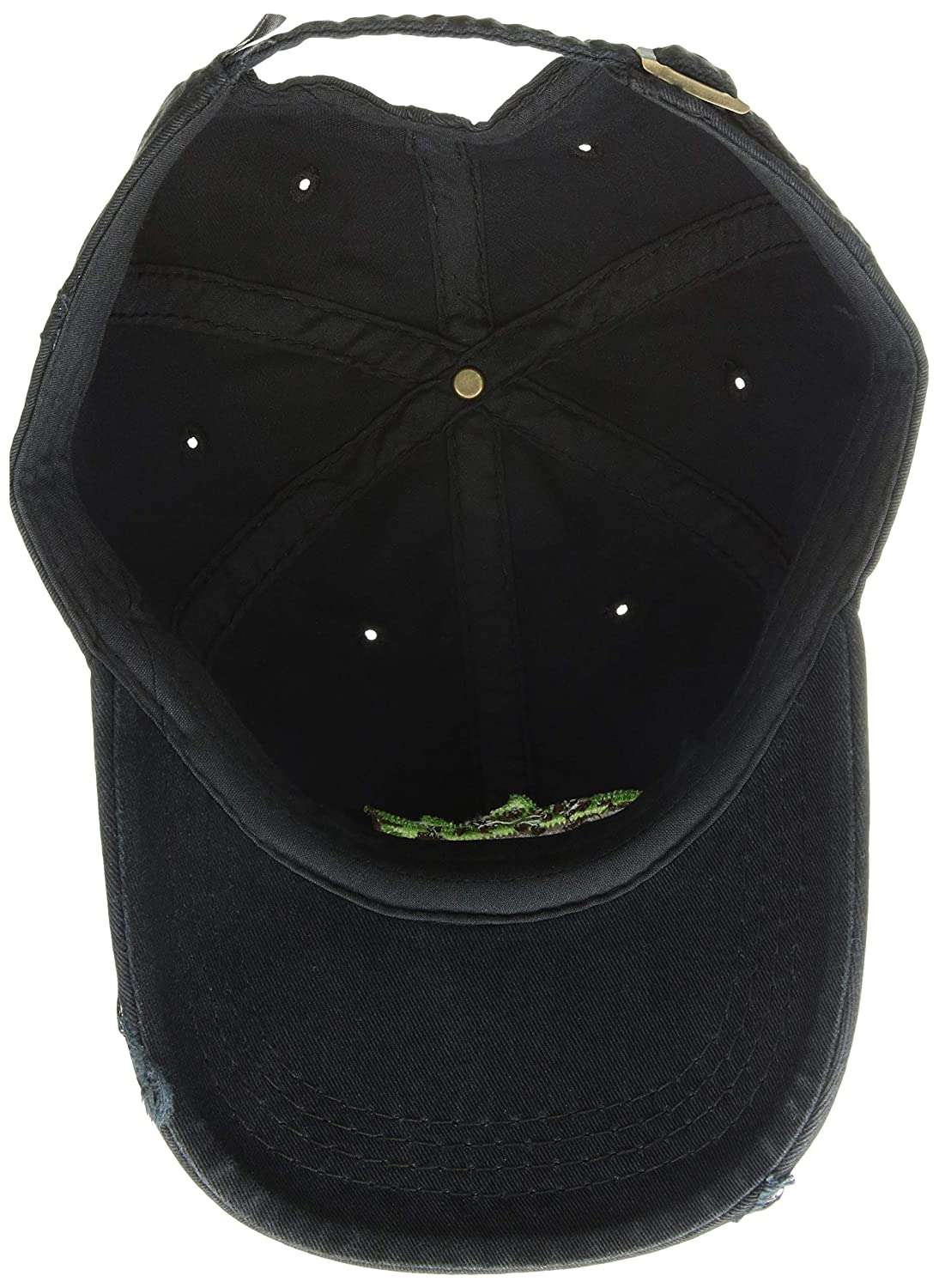 Life is Good Fish Stitch Sunwashed Chill Cap Night Black One Size The Life is good Company 51602