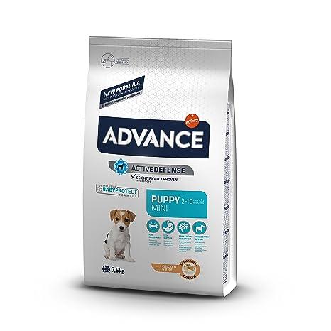 Advance Puppy Protect Pienso para Perro Mini Puppy con Pollo - 7,5 Kg