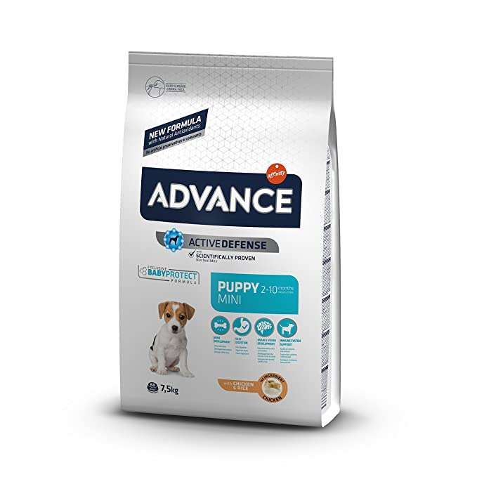 Advance French Bulldog Adult, Comida para perros, carrera de Bulldog francés adulto, 9Kg: Amazon.es: Productos para mascotas