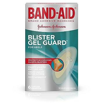 amazon com band aid brand blister protection adhesive bandages 6