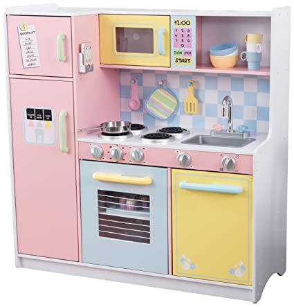 Amazon kidkraft large kitchen toys games kidkraft large kitchen solutioingenieria Gallery