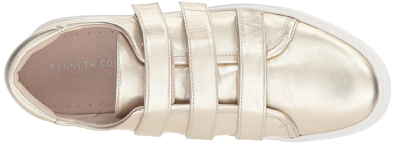 Kenneth Cole New York Women's Kingcro Triple Hook and Loop Sneaker B0761FFJW3 8 B(M) US|Soft Gold