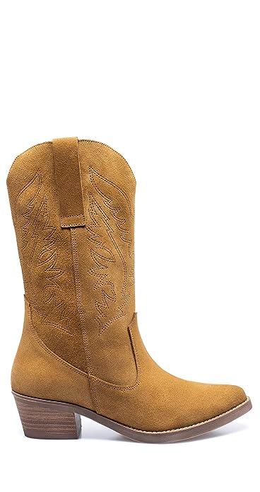 BOTAS ALTAS | Bota de caña altaNEGRA | Botas de piel miMaO