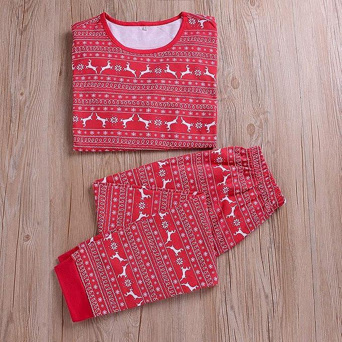 Amazon.com: Conjunto de pijamas de la familia de Navidad ...