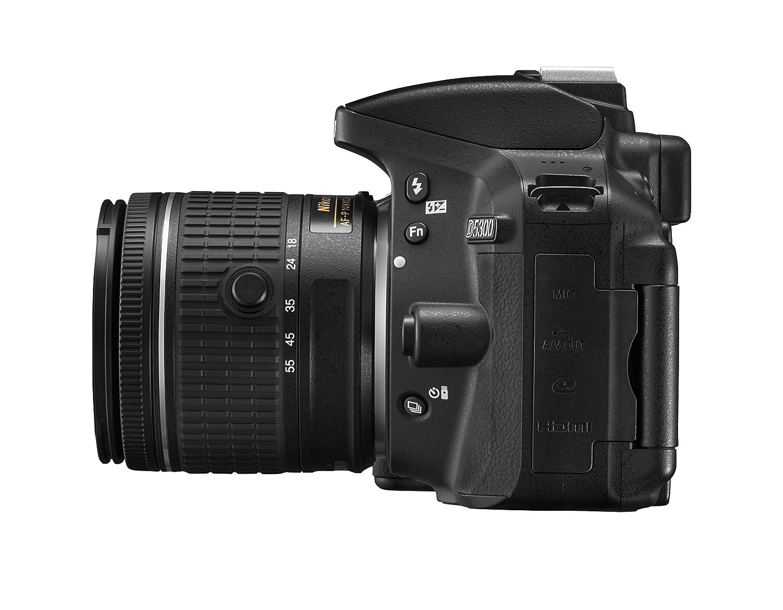 Nikon D5300 Af P 18 55 Vr Lens Kit Black Digital 55mm Single Reflex Camera Photo