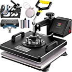 VEVOR Heat Press 15x15 Inch Heat Press Machine 6 in 1