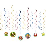 American Greetings Super Mario Hanging Party Decorations