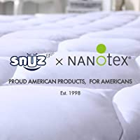 SNUZZZZ Mattress Pad Queen   Mattress Cover Cooling, Breathable, Water Resistant...