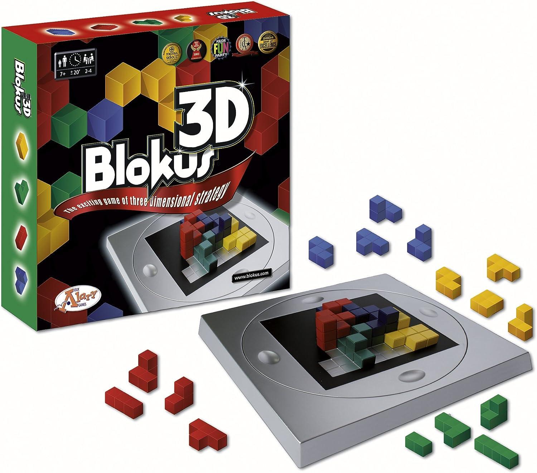 Mattel 10180 Blokus 3D - Juego de Estrategia en Tres Dimensiones [Importado de Alemania]: Amazon.es: Juguetes y juegos