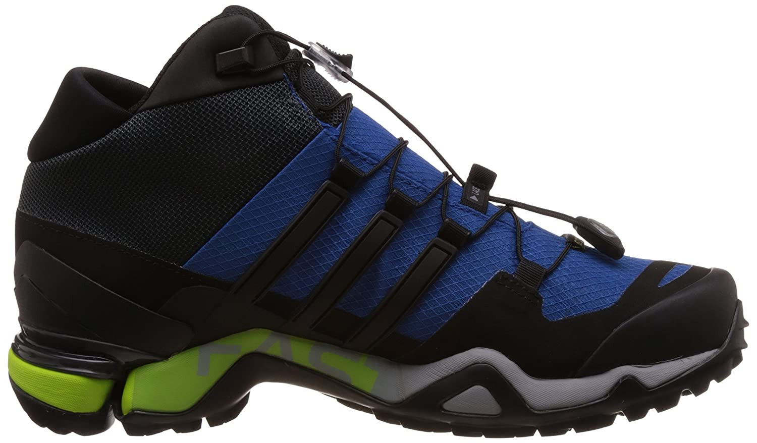 43db76190 Adidas Men s Terrex Fast R Mid GTX Blue and Black Multisport Training Shoes  - 11 UK  Buy Online at Low Prices in India - Amazon.in