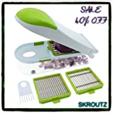 Onion Cutter Slicer Vegetable Chopper Kitchen Peeler Garlic Fruit Cheese Dicer Shredder Tool New Easy Food Pressing Tomato Guarantee - It Comes Only Among Our Unique Ebook