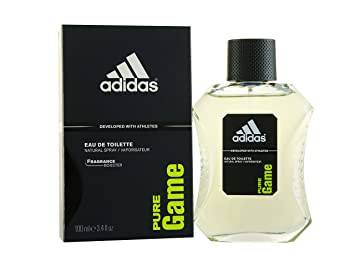 Amazon.com   Adidas Pure Game By Adidas Edt Spray 3.4 Oz (developed With  Athletes) (men)   Eau De Toilettes   Beauty 1471189f13