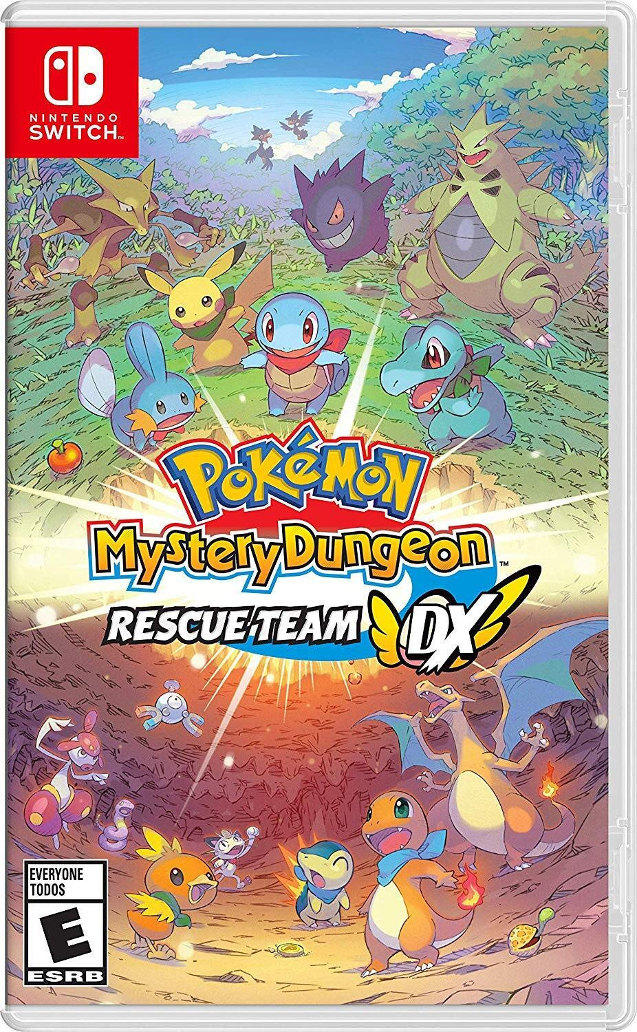 Pokemon Mystery Dungeon: Rescue Team DX for Nintendo Switch USA ...