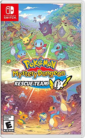 Pokemon Mystery Dungeon: Rescue Team DX for Nintendo Switch USA: Amazon.es: Nintendo of America: Cine y Series TV