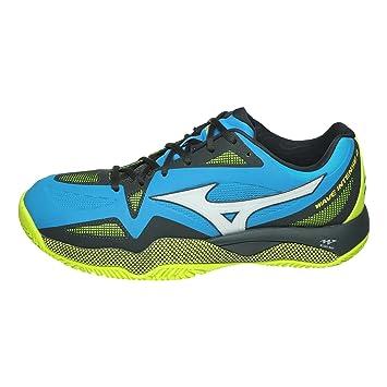 Mizuno Zapatos Tenis Hombre Wave Intense Tour 4 CC: Amazon.es: Zapatos y complementos