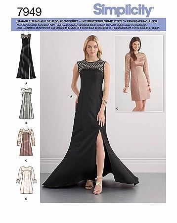 Schnittmuster kleid damen 48