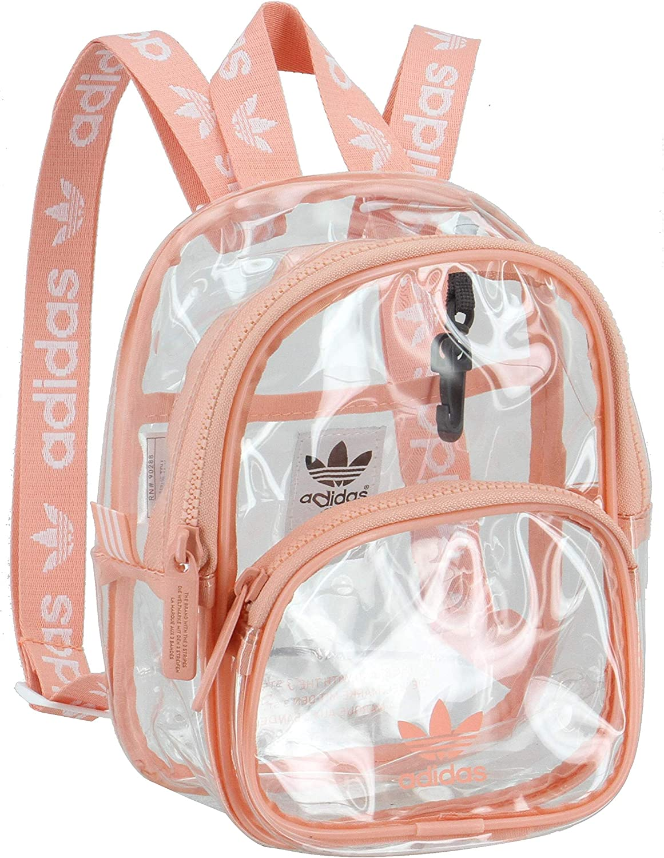 adidas Originals Unisex Clear Mini Backpack