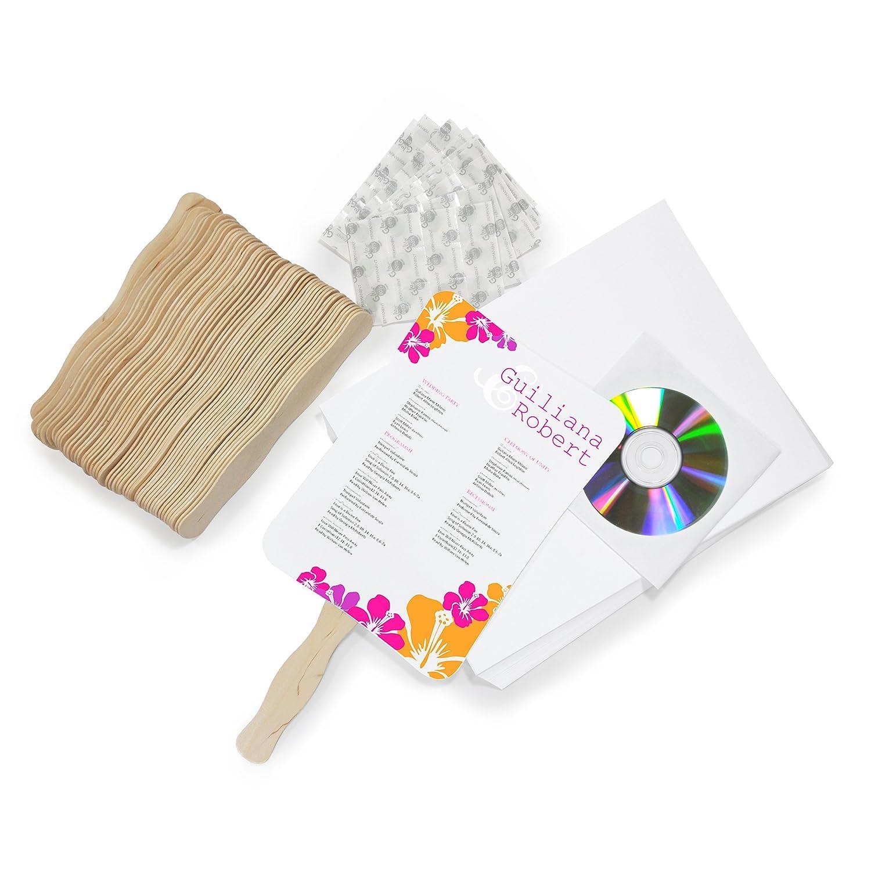 Amazon.com: Cathy\'s Concepts DIY Designer Fan Program Paper Kit ...