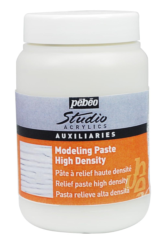 Pebeo Studio Acrylics Auxiliaries, Studio Modeling Paste 1-Liter Pebeo Fabricant de Couleurs 524160