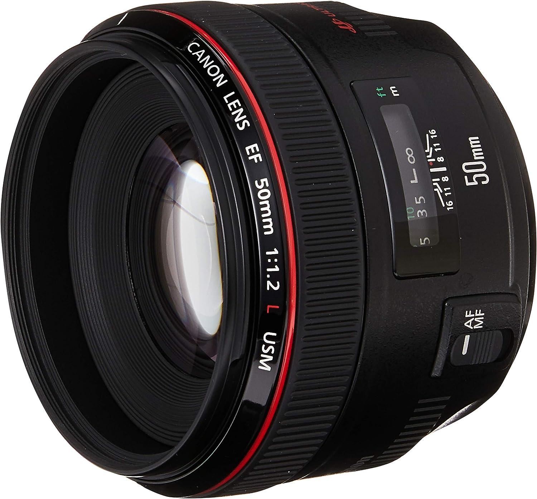 Amazon Com Canon Ef 50mm F 1 2 L Usm Lens For Canon Digital Slr Cameras Fixed Camera Lenses Camera Photo
