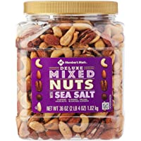 Member's Mark Deluxe Roasted Mixed Nuts With Sea Salt (34 Oz.) - SET OF 10