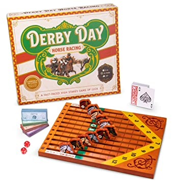 horse race board game