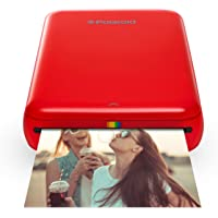 Polaroid ZIP Wireless Mobile Photo Mini Printer – Compatible w/ iOS & Android, NFC & Bluetooth Devices - Red