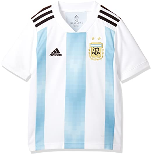 Adidas Argentina Camiseta de Equipación, Niños: Amazon.es: Deportes y aire libre