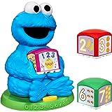 Sesame Street Cookie Monster Find & Learn Number Block