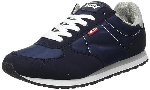 LEVIS Eagle Running - Zapatillas para Hombre, Azul, talla 45 EU: Amazon.es: Zapatos y complementos