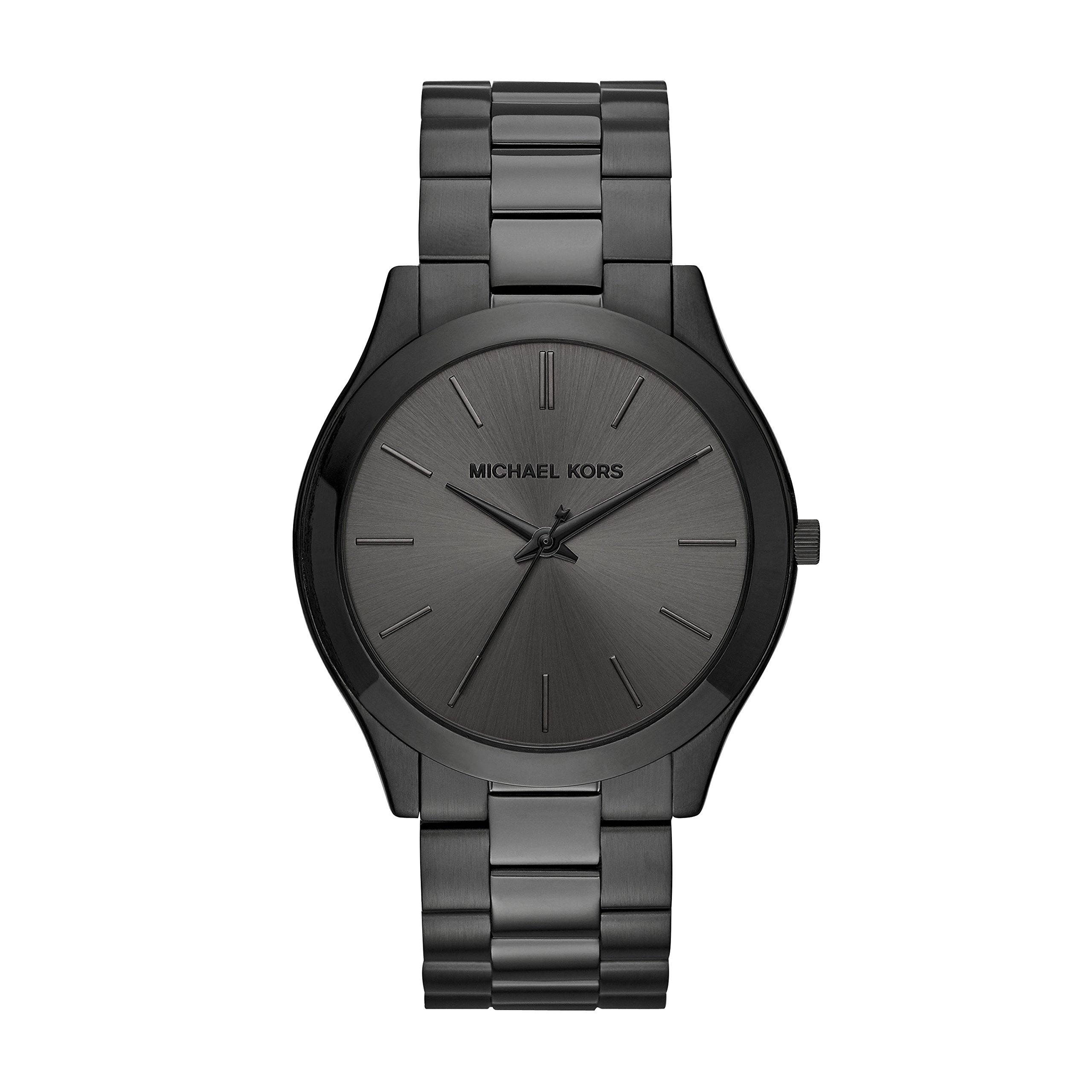 Michael Kors Men's Slim Runway Black Watch MK8507 by Michael Kors