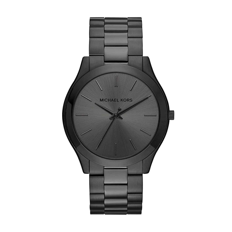 Michael Kors Men s Slim Runway Quartz Watch with Stainless Steel Strap