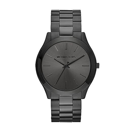 Michael Kors Men's Slim Runway Black Watch MK8507 best minimalist watches for men
