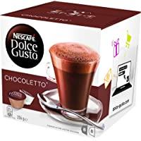 NESCAFÉ Dolce Gusto Chocoletto Coffee Pods, 16 Capsules (8 Serves) 270g