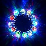 Konsait Flashing Led Light up Ring Toys Diamond