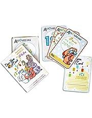 👶 Once Upon a Card - Ma Première Année en Photos - 40 Cartes Etapes Bébé - 5 Animaux Rigolos - Cadeau De Naissance Pour Jeune Maman – Immortalisez chaque instant de bébé!