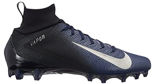 4749a2bb8 NIKE Men's Vapor Untouchable 3 Pro Football Cleats (9.5, Black/Navy ...