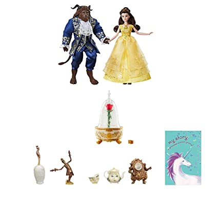 Beauty And The Beast Collectibles >> Amazon Com Belle Princess Beast Figure Doll Collectibles Castle