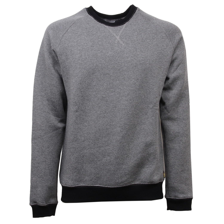 ATLANTIC STARS D6228 Felpa  Herren Grigio Grau Sweatshirt Men