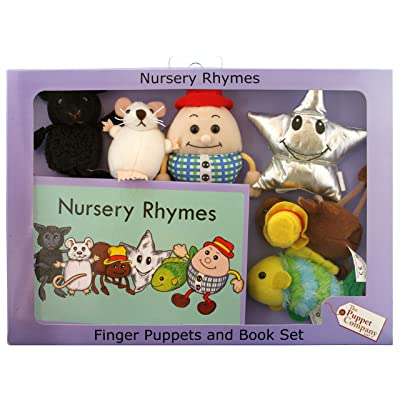 The Puppet Company Traditional Story Sets Nursery Rhymes Book and Finger Puppets Set: Industrial & Scientific